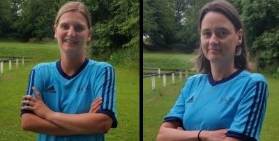 Anne Troschke und Simona Weber verabschiedet