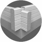 Wandaufbau - Massivholzhaus - Bausatz - Wohnhaus - Einfamilienhaus - Holzhäuser - Holzbau - Blockhausbau