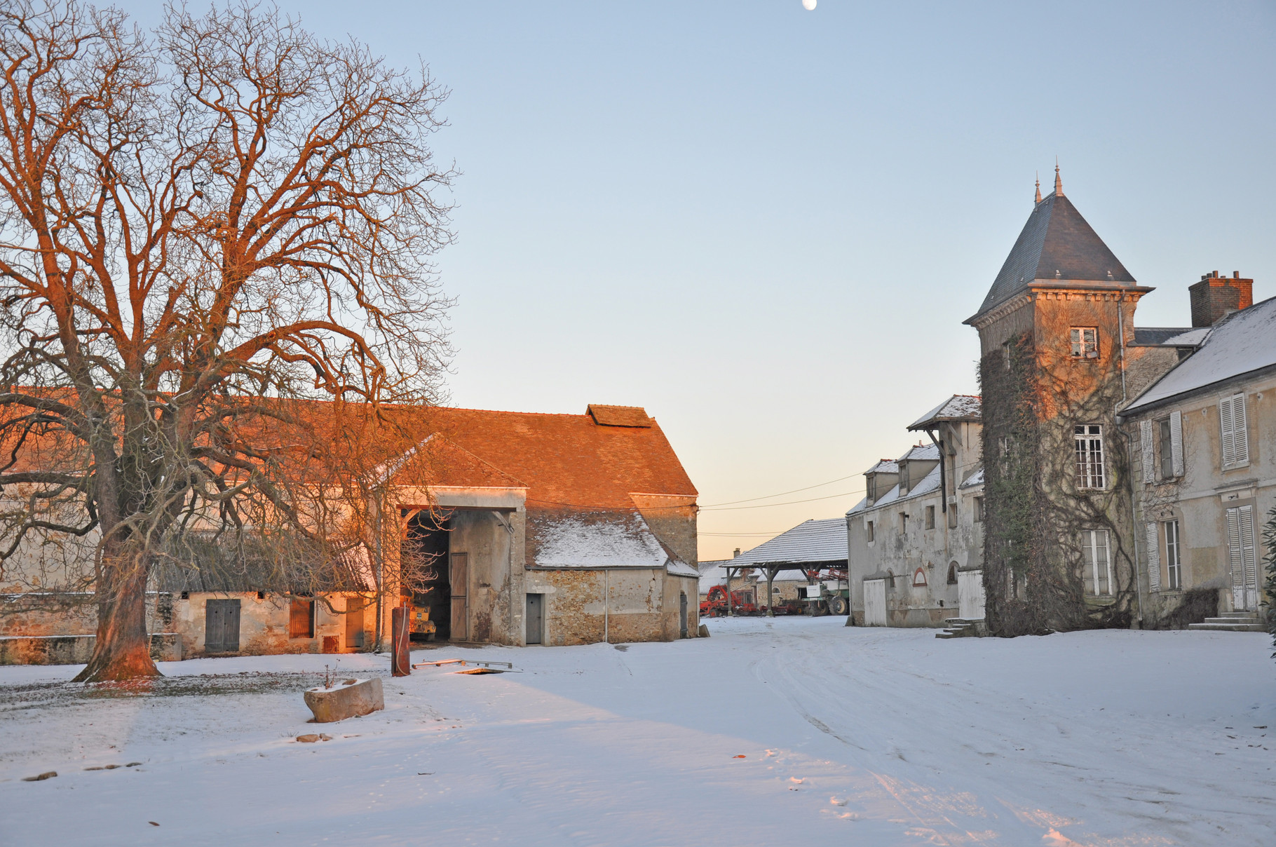 Ferme d'Orsigny (photo  © Laurent Sainte Fare Garnot)
