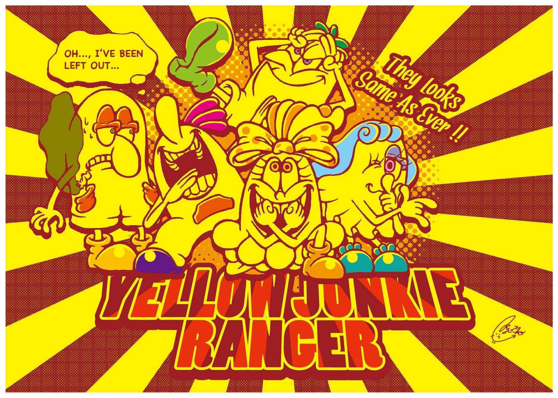 YELLOW JUNKIE「ヒーロー気取り」
