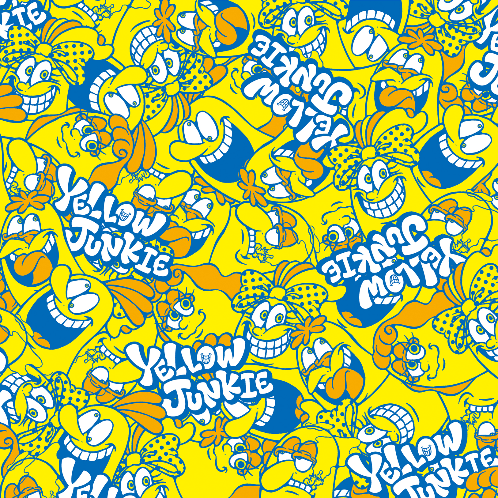 YELLOW JUNKIE総柄
