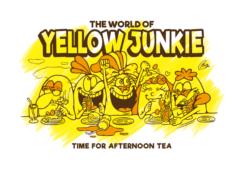 YELLOW JUNKIE「楽しいお茶会」