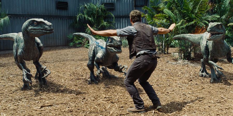 Jurassic World im IMAX - Chris Pratt und Velociraptoren - Gewinnspiel - Universal - kulturmaterial