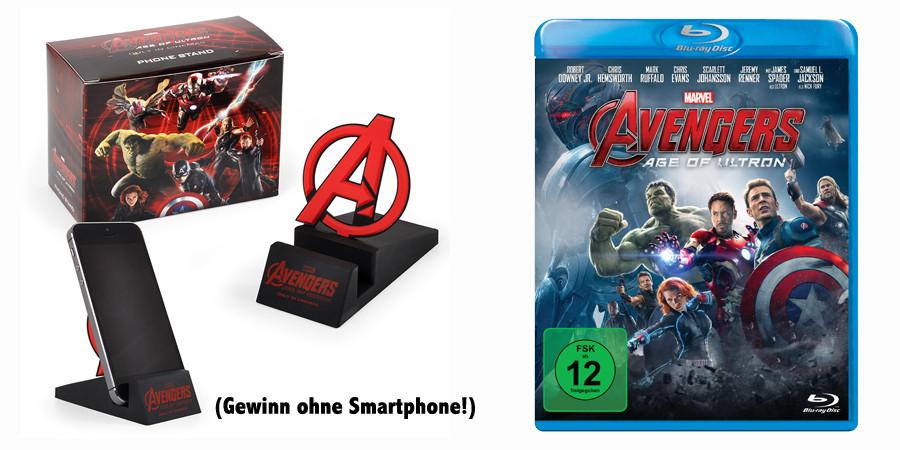 Avengers Age Of Ultron Gewinnspiel Fan Artikel gewinnen - Marvel - kulturmaterial