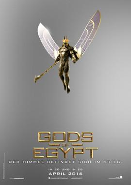 Gods Of Egypt im Kino - Fantasy - Concorde - kulturmaterial