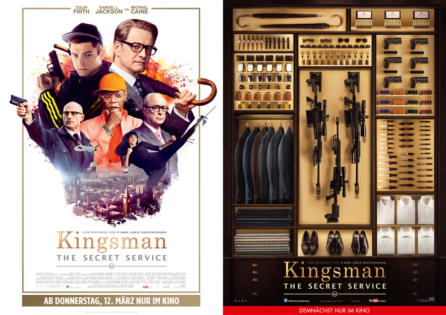 Kingsman The Secret Service - Poster - 20 Century Fox - kulturmaterial