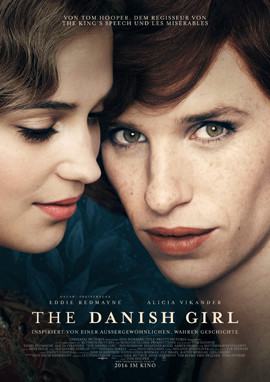 The Danish Girl - Eddie Redmayne - Universal - kulturmaterial