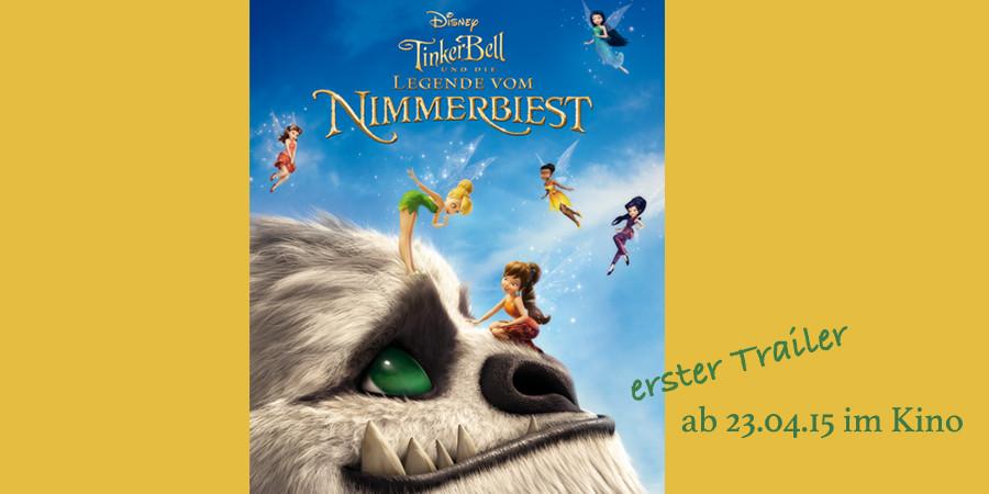 Tinkerbell-Legende vom Nimmerbiest-Disney-kulturmaterial