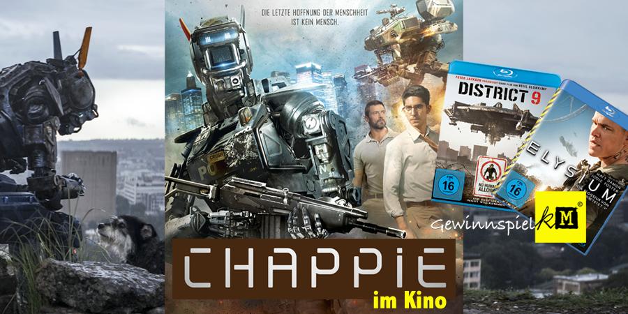 Chappie - Kinostarts - Film - Gewinnspiel - Sony - kulturmaterial