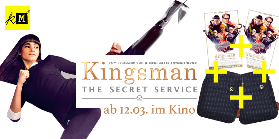 Kingsman-Gewinnspiel-Secret Service-20th Century Fox-kulturmaterial-