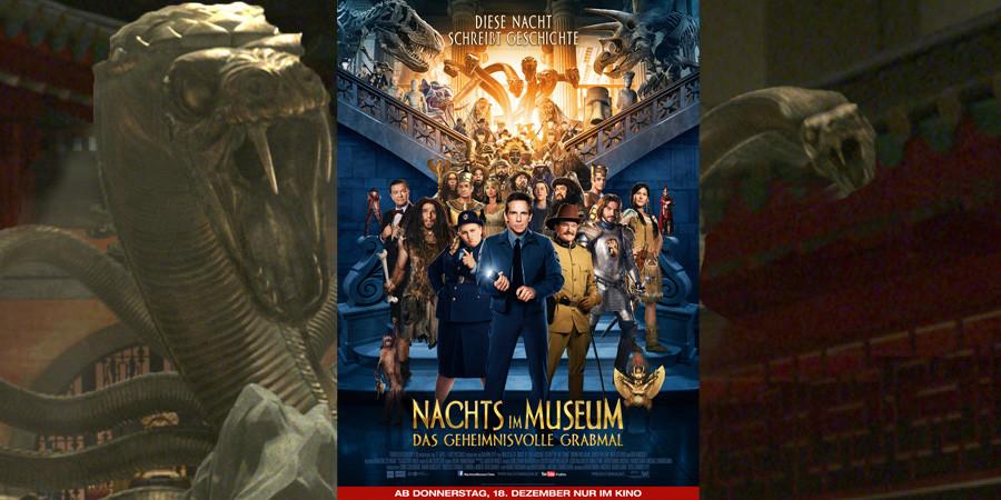 Nachts im Museum 3-Geheimnisvolles Grabmal-Twentieth Century Fox-kulturmaterial-Trailer