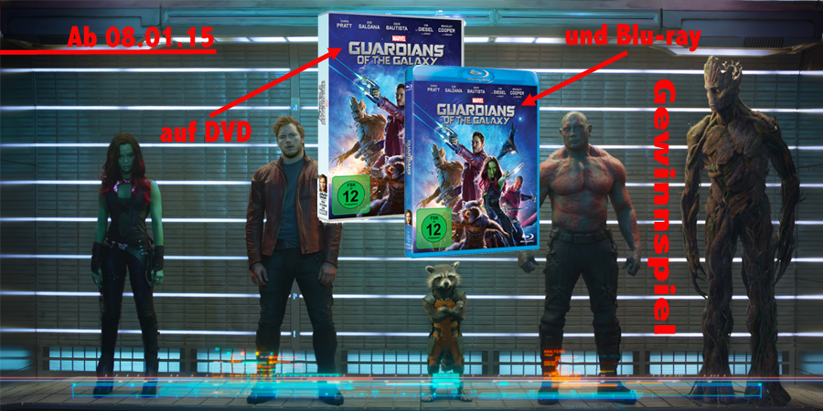 Guardians Of The Galaxy-DVD-Bluray-Disney-Marvel-kulturmaterial-Gewinnspiel