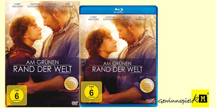 Am grünen Rand der Welt Blu-ray DVD- Carey Mulligan - Matthias Schoenaerts - Fox Home - kulturmaterial