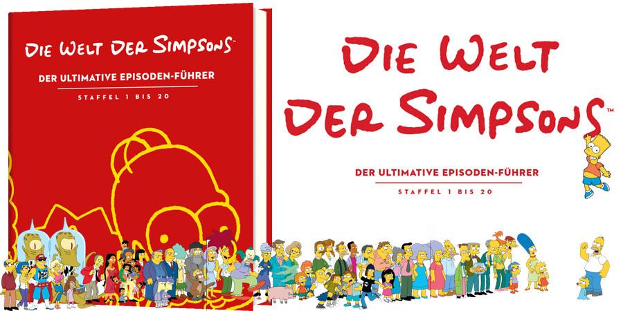 Simpsons Buch-Die Welt der Simpsons-Riva-MVG-kulturmaterial