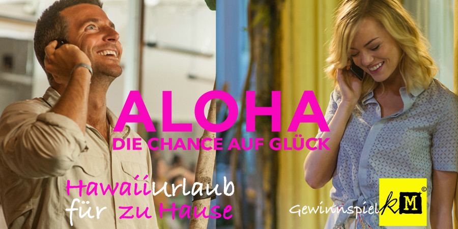 Aloha Chance auf Glück Blu-ray DVD - Bradley Cooper - Emma Stone - Fox Home - kulturmaterial