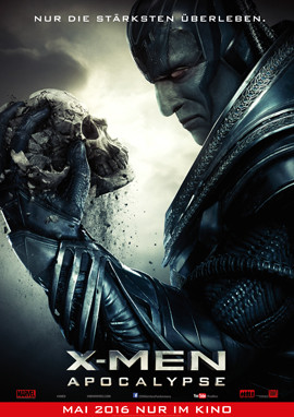 X-Men Apocalypse im Kino - Michael Fassbender - Jennifer Lawrence - 20th Century Fox - kulturmaterial
