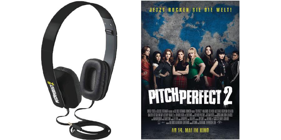 Pitch Perfect 2 - Elizabeth Banks - Universal - kulturmaterial - Gewinnspiel - Kopfhörer