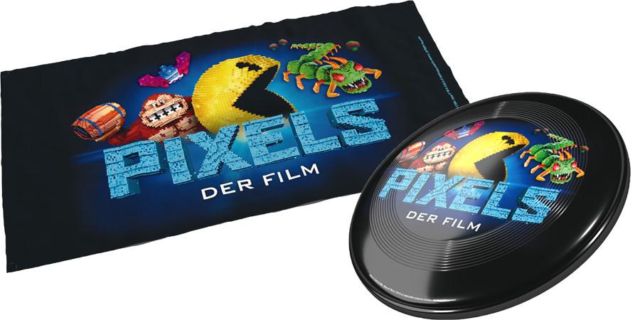 Pixels Gewinnspiel - Adam Sandler - Kevin James - Sony - kulturmaterial - Fan Artikel
