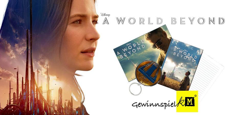 Tomorrowland A World Beyond - Gewinnspiel - Disney - kulturmaterial