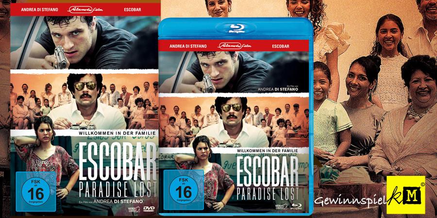 Escobar Paradise Lost Blu-ray DVD - Josh Hutcherson - Benicio Del Toro - Alamode - kulturmaterial