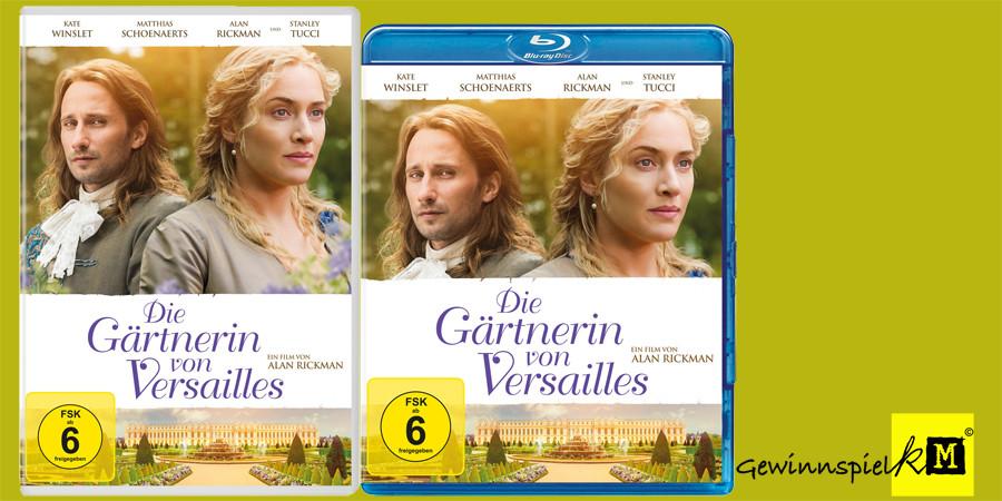 Die Gärtnerin von Versailles Blu-ray DVD - Kate Winslet - Tobis - kulturmaterial