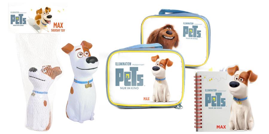 Pets - Illumination Entertainment - Universal - kulturmaterial - Gewinnspiel Fanartikel