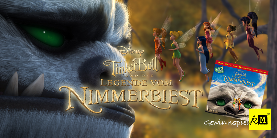 Tinkerbell Legende vom Nimmerbiest - Disney - kulturmaterial