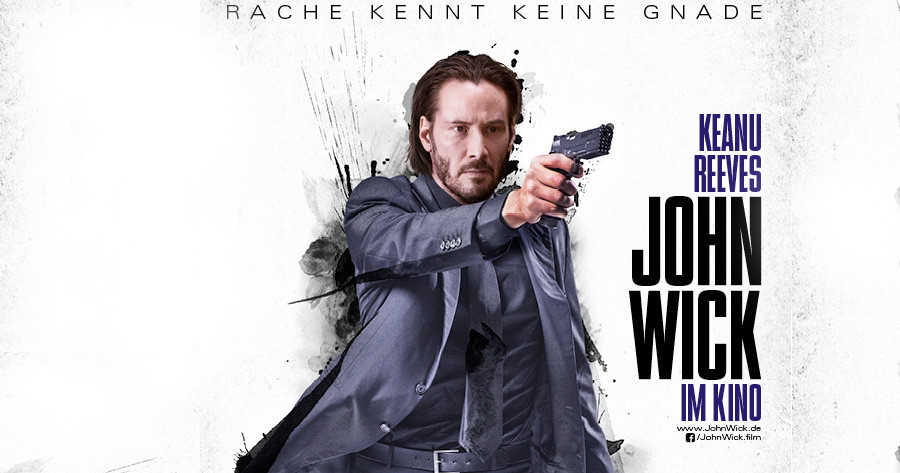 Trailer-John Wick-Keanu Reeves-Studiocanal-kulturmaterial