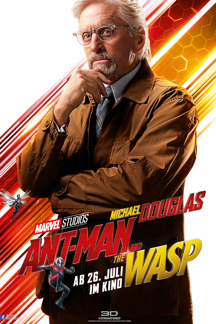 ANT-MAN AND THE WASP - DR HANK PYM_Michael Douglas - Marvel - kulturmaterial