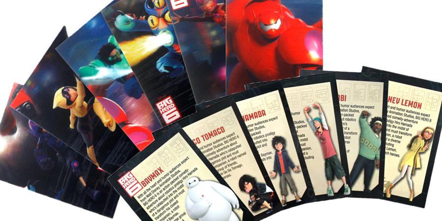 Baymax-Gewinnspiel-Disney-kulturmaterial-Sammelkarten