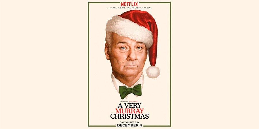 A Very Murray Christmas - Bill Murray - Netflix - kulturmaterial - Title