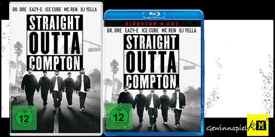 Ice Cube - Straight Outta Compton Blu-ray DVD - Universal - kulturmaterial