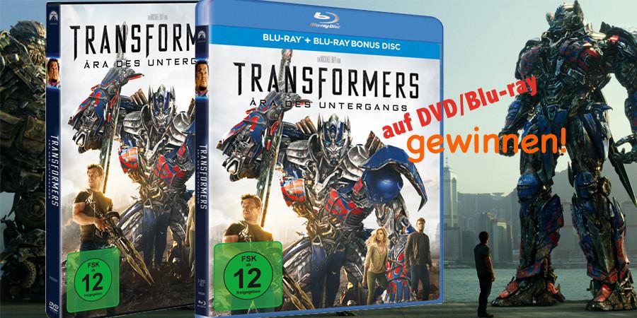 Transformers 4-Ära des Untergangs-Paramount-kulturmaterial-Gewinnspiel