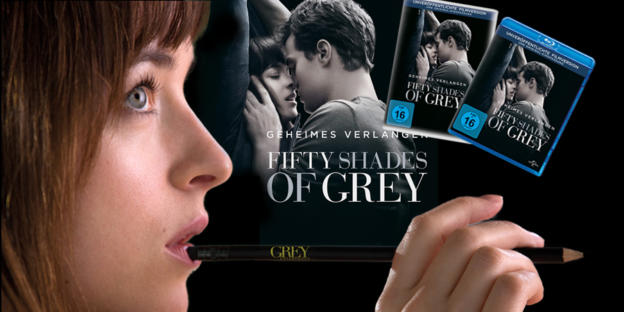 Fifty Shades Of Grey - Bluray DVD - Universal - kulturmaterial