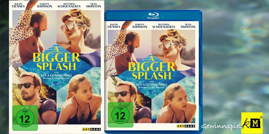 Ralph Fiennes - A Bigger Splash Blu-ray - Art Haus Studiocanal - kulturmaterial