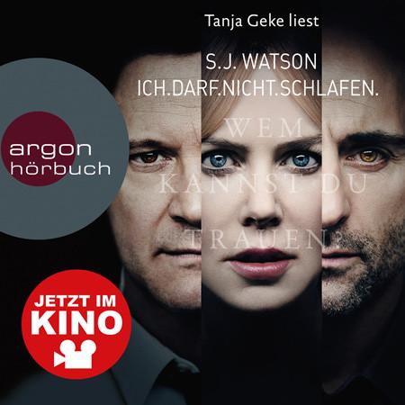 Ich darf nicht schlafen-Hörbuch- Argon Verlag-Nicole Kidman-Colin Firth-kulturmaterial-Gewinnspiel
