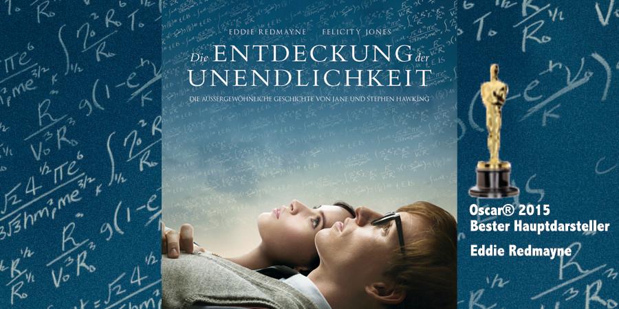 Oscar - Gewinner - Bester Hauptdarsteller - Die Entdeckung der Unendlichkeit - Universal - kulturmaterial