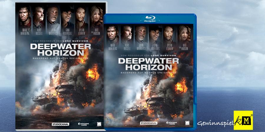 Deepwater Horizon Blu-ray - Studiocanal - kulturmaterial