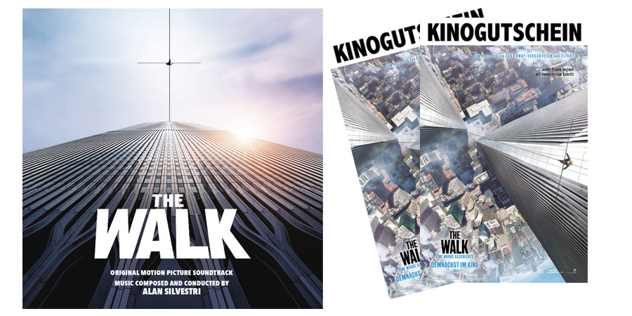 The Walk - Alan Silvestri - Original Motion Picture Soundtrack - Sony Classical - kulturmaterial