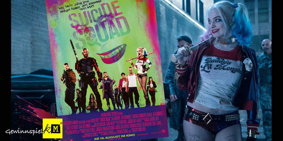 Suicide Squad Film - DC Comics - Warner Bros Pictures - kulturmaterial