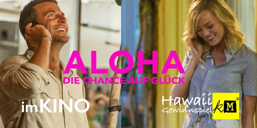 Aloha Film - Chance auf Glück - Bradley Cooper - Emma Stone - 20th Century Fox - kulturmaterial