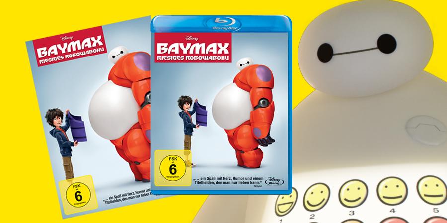 Baymax - Bluray - DVD - Disney - kulturmaterial