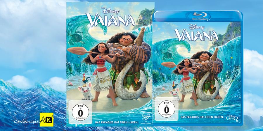 VAIANA Blu-ray - Lina Larissa Strahl - Disney - kulturmaterial