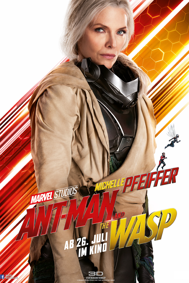 ANT-MAN AND THE WASP - JANET VAN DYNE_Michelle Pfeiffer - Marvel - kulturmaterial