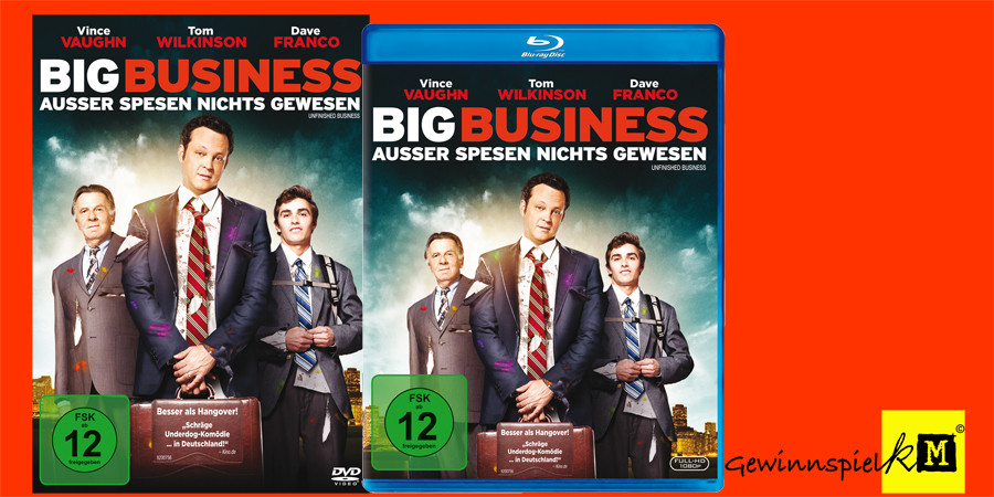 Big Business - Vince Vaughn - Dave Franco - Fox Home Entertainment - kulturmaterial