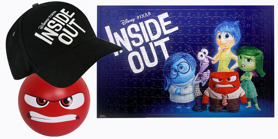 Alles steht Kopf - Disney - kulturmaterial - Gewinnspiel Fan Artikel
