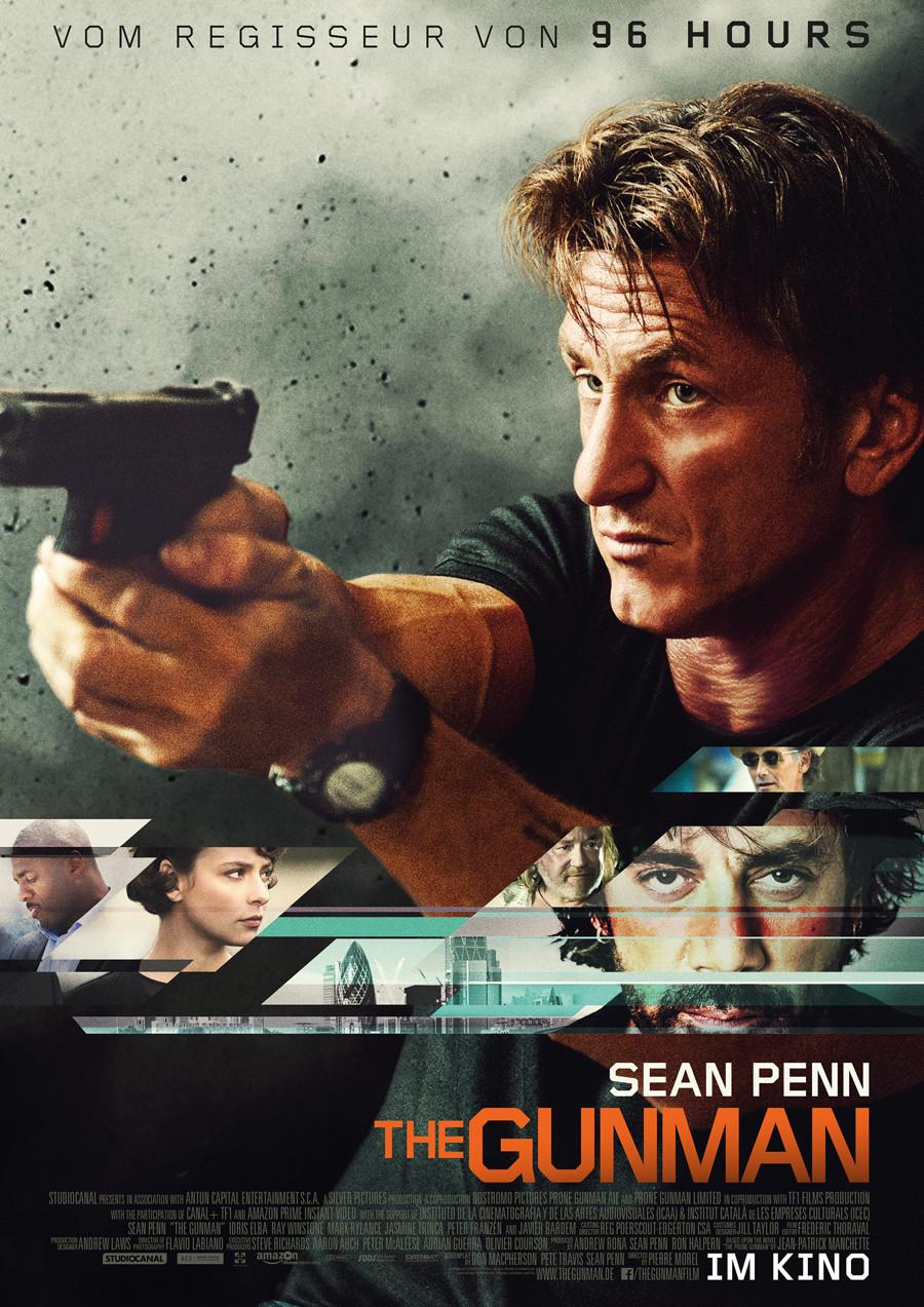 The Gunman - Sean Penn - Studiocanal - kulturmaterial