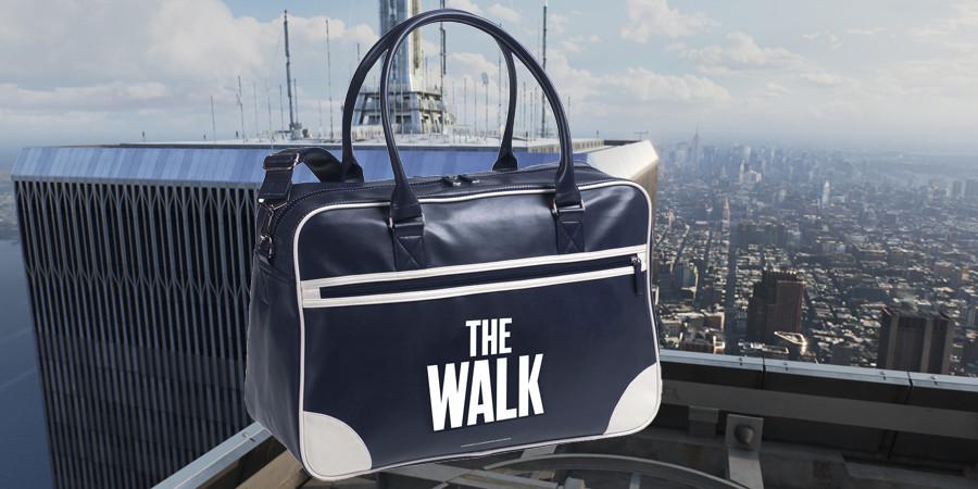 The Walk - Robert Zemeckis - World Trade Center - Philippe Petit - Sony - kulturmaterial - Fan Artikel Retro-Sporttasche