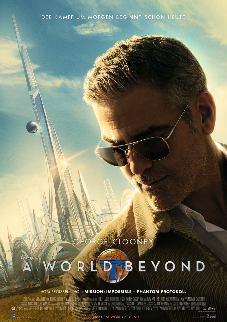 Tomorrowland - A World Beyond - Disney - kulturmaterial - Plakat