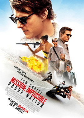 Mission Impossible Rogue Nation - Tom Cruise - Paramount - kulturmaterial